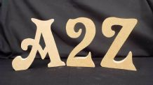FREE STANDING WOODEN LETTERS/HOME DECOR/NAME,large wooden letters,numbers LON1